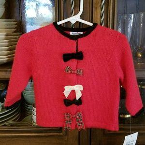 Hartsrings Sweater, 12mo NWT